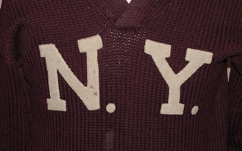 128: NY BASEBALL SWEATER / FRANCIS MEEHAN - 2
