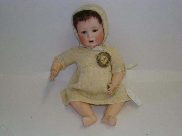 """199: 16"""" BISQUE SOCKET HEAD BABY."""