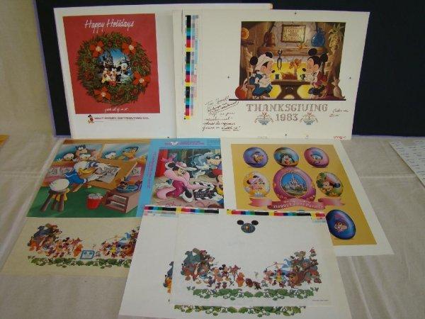 2003: Walt Disney World Publishing Printers Proofs