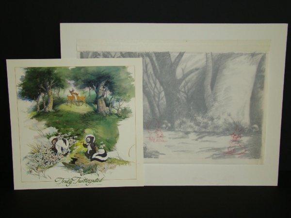 2004: Bambi Background Artwork & Twitterpated Print