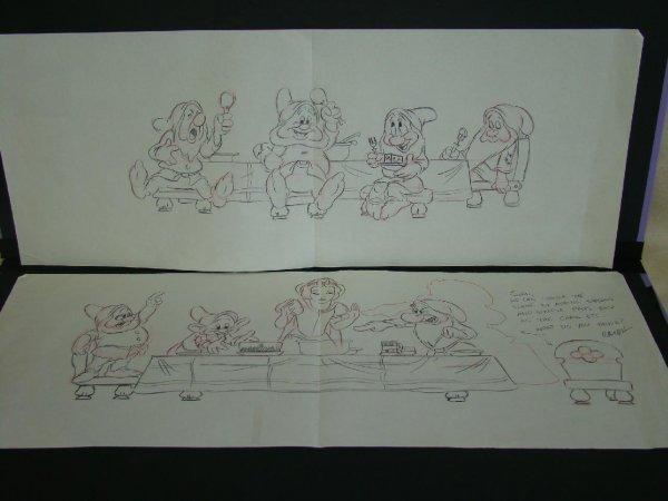 2005: Snow White & 7 Dwarfs Art