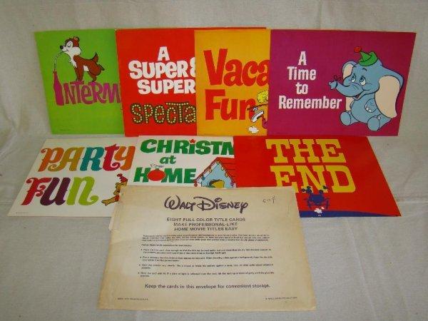 2012: Disney Home Movie Title Cards