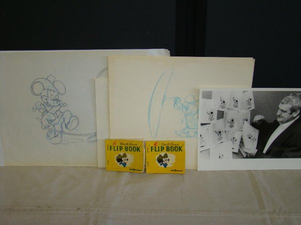 2014: Mickey Mouse Flip Book with Original Art