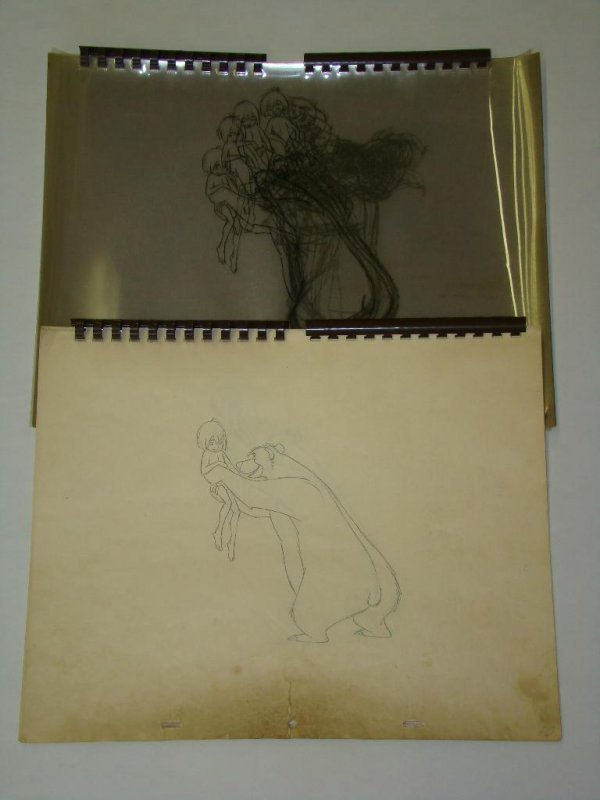 2016: Jungle Book Animators Reference Drawings