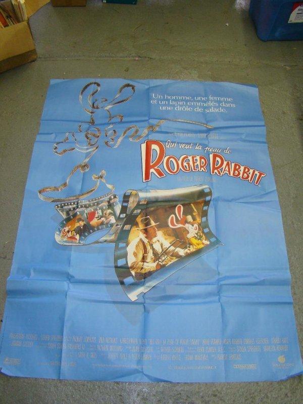 2023: (2) Roger Rabbit 1988 Original Movie Posters