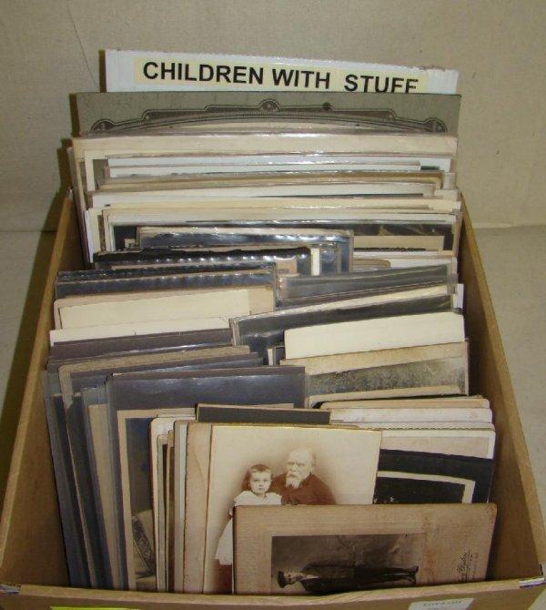 2331: Vintage Photo Lot. Children