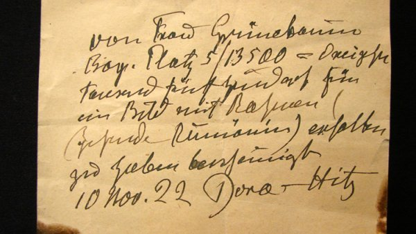 8: DORA HITZ 1922 MIXED MEDIA LANDSCAPE - 7
