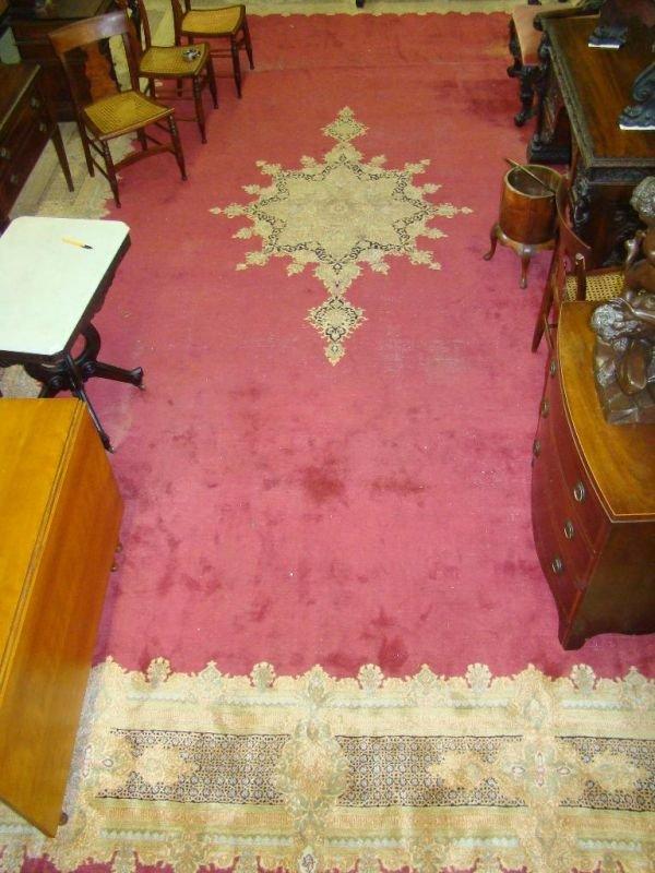 21A: LARGE KERMON RUG 14 X 24