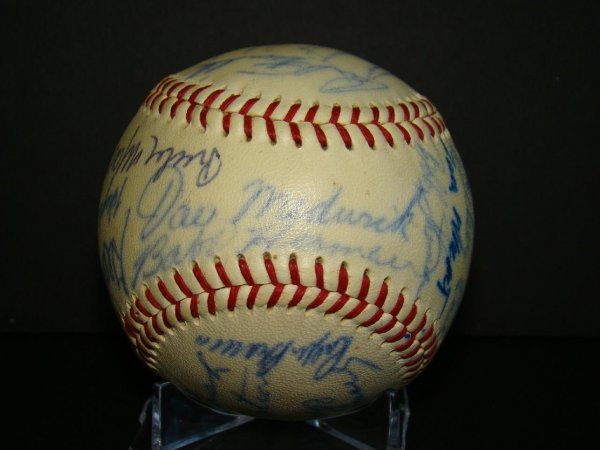 1010: Autographed Old Timers Ball.