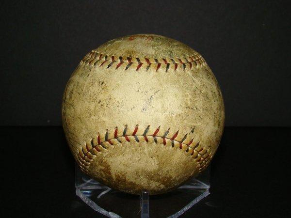 1017: Circa 1927 Signed Yankees Baseball.
