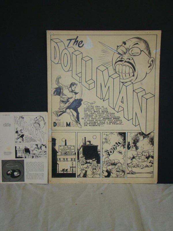 1401: Dollman Splash Page. 1943.