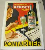 2011 LINEN BACKED FRENCH ADVERTISING POSTER