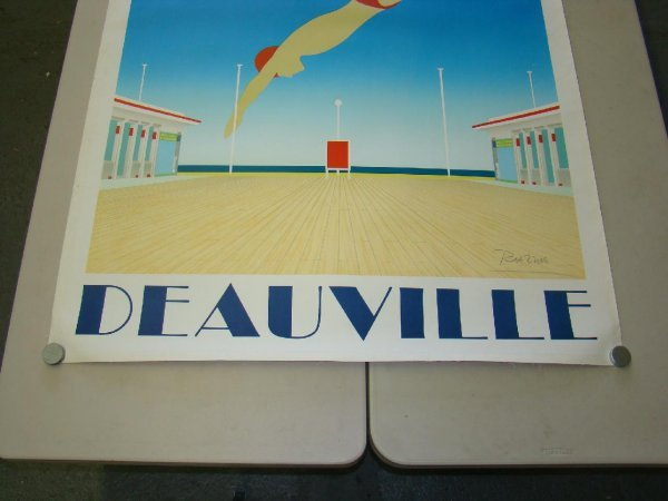 "2046: LINEN BACKED ""DEAUVILLE"" RAZZIA POSTER - 3"