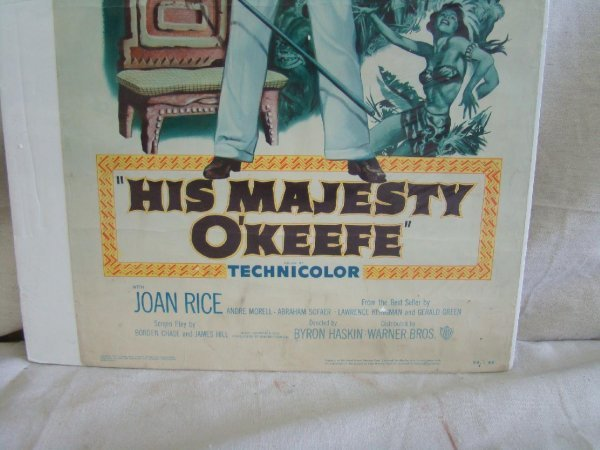 2101: 1954 His Majesty O'Keefe Movie Poster - 4