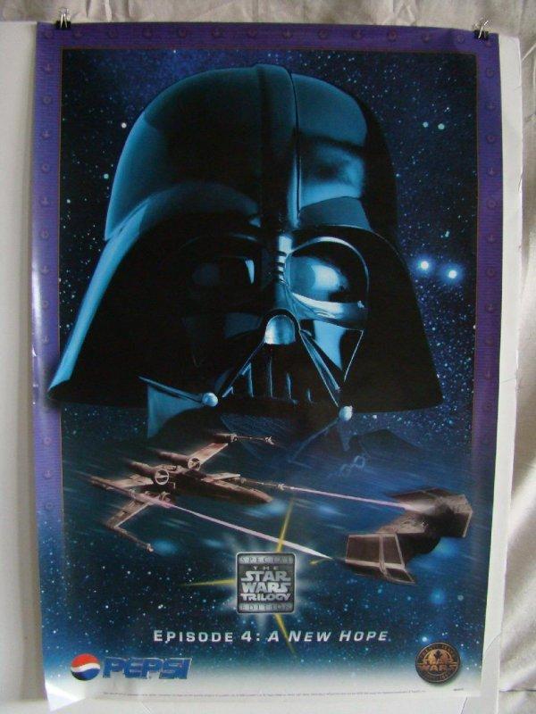 2111: 3 Star Wars Trilogy Pepsi Promo Posters - 3