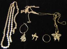 14K Jewelry Lot