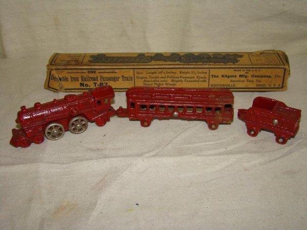 3002: Kilgore. Boxed Train Set.