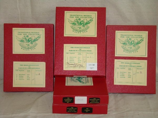 3007: Tradition Toy Soldiers. Lot of 5 Boxed Sets