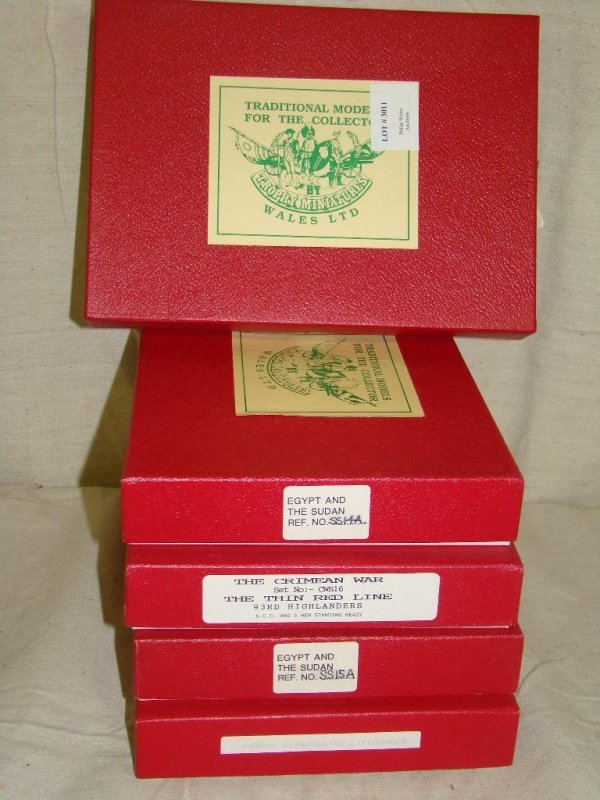 3011: Tradition Toy Soldiers. Lot of 5 Boxed Sets