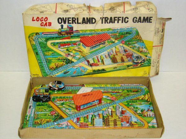 3166: Boxed Cragstan Overland Traffic Game