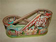 3174 J Chein Tin Litho Roller Coaster Toy