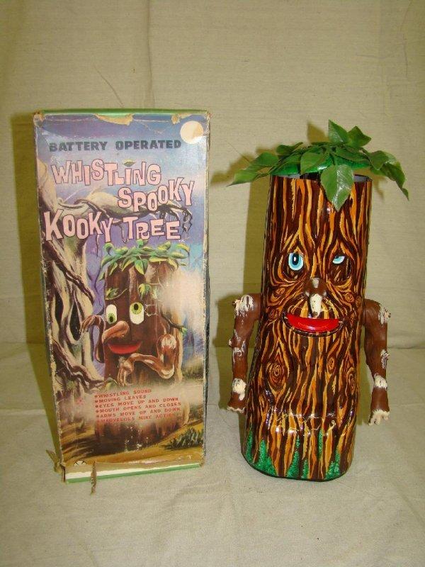 3256: Boxed Marx Whistling Spooky Kooky Tree