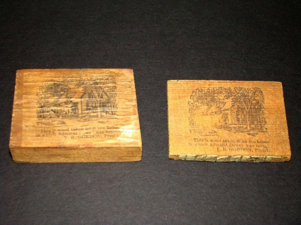 6: Wood From Admiral Dewey Home