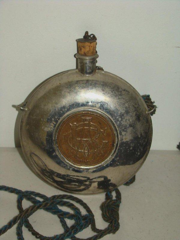 8: Vintage G.A.R Powder Flask