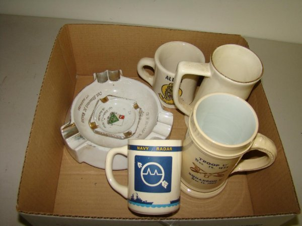11: Vintage Military Collectibles Lot