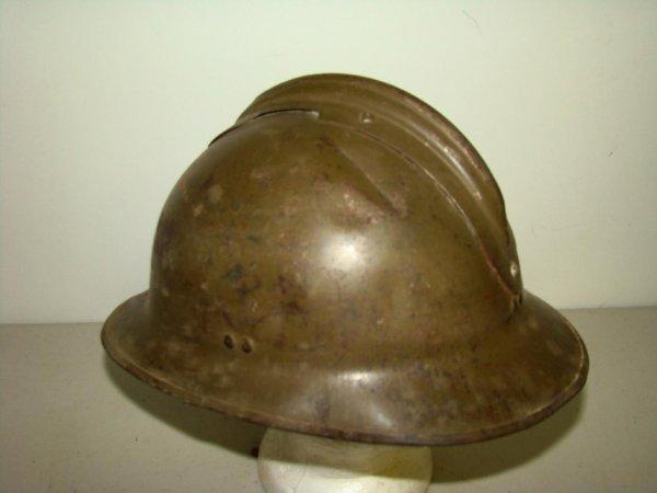 15: Vintage WWII French Helmet