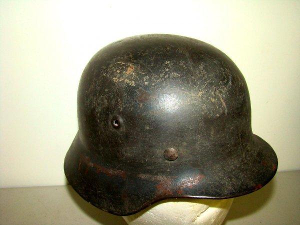16: Vintage WWII German Helmet