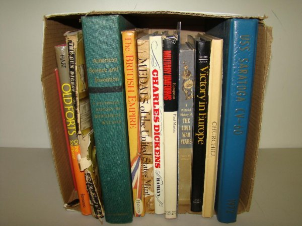 19: Lot of Military Books