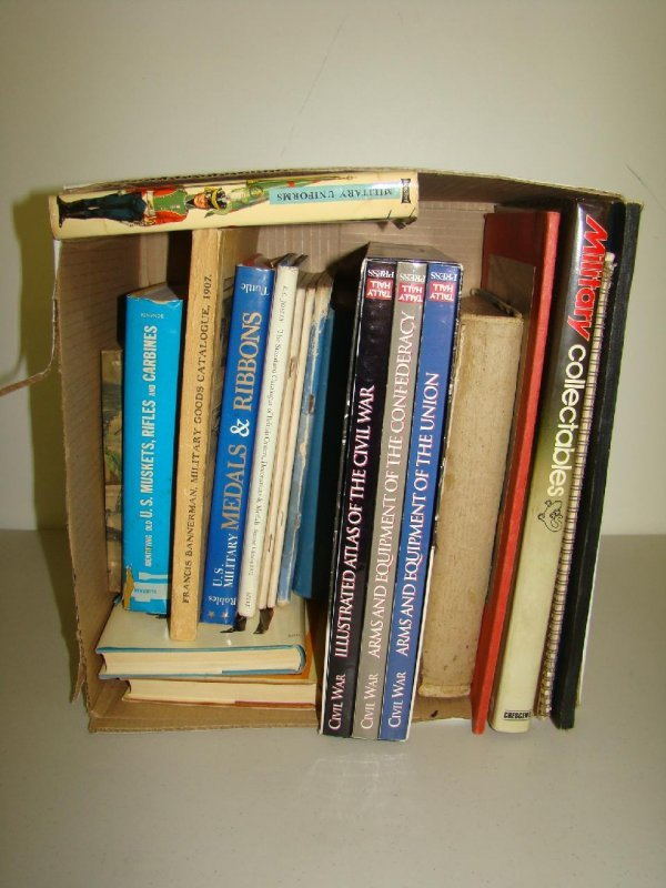 21: Lot of Military Books