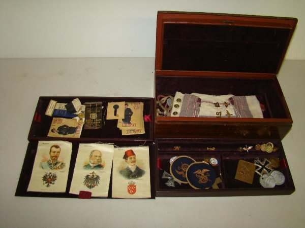 22: Lot of Military Collectibles