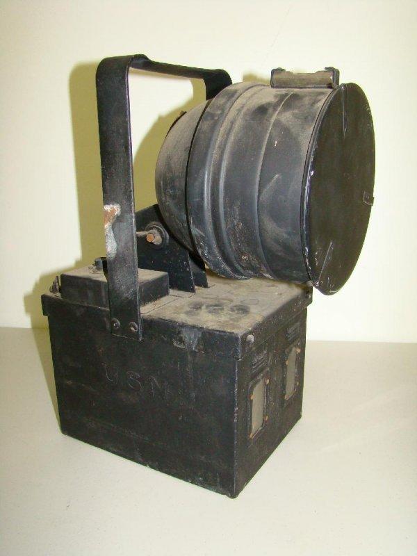 24: U.S. Navy Signal Lantern