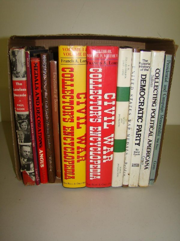 25: Lot of Military Books