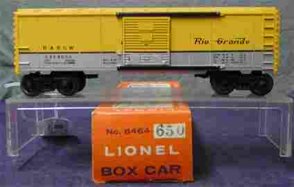RARE Boxed Lionel 6464-650 Yellow Roof
