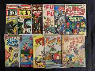"""Assorted Comics Short Box, Titles with Letter """"F"""""""