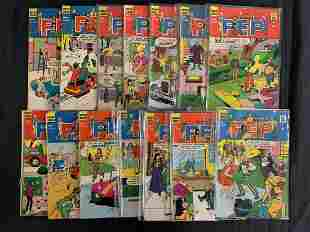 """Assorted Comics Short Box, Titles with Letter """"P"""""""