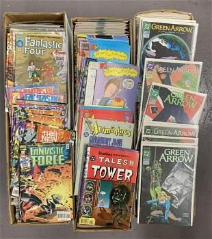 Comic Lot from the Joe Kubert Estate 3 Long Boxes