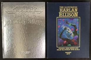 2 Signed Graphic Novels Harlan Ellison Bester