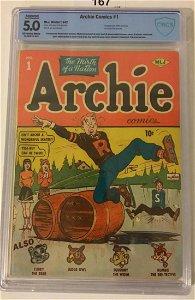 Archie Comics #1. CBCS Graded.