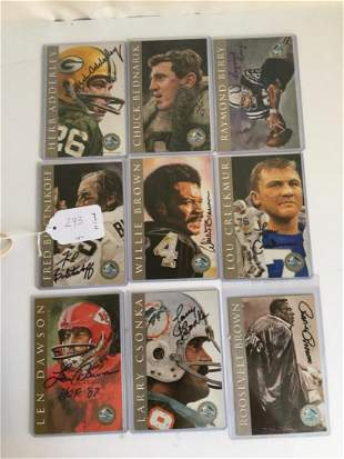 1995 Ron Mix Hall of Fame Limited Set Group