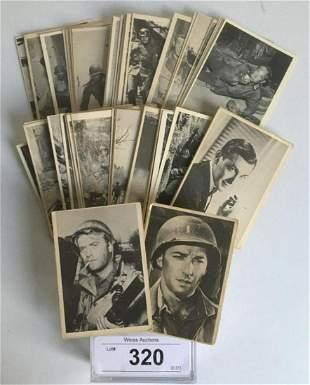 1963 Donruss Selmar combat Card Set