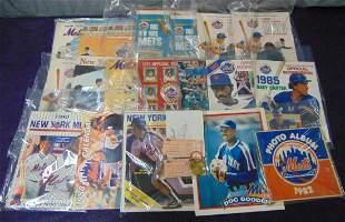New York Mets Publication Ephemera Lot