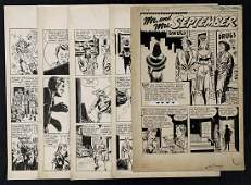 Golden Age Original Comic Story.