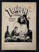 Trophy Comics #1 Original Cover Art. John Giunta.
