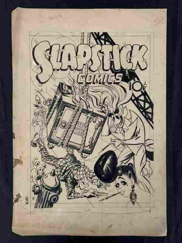 Slapstick Comics #1 Original Cover Art.