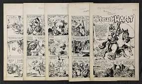 Trophy Comics #1 Full Original Story Art.