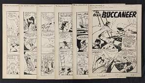 Knockout Comics #1 Original Story Art.